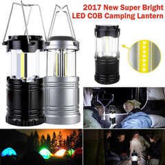 Super Bright 3*cob Led Lightweight Camping Portable Lanterns Lights Tent Lamps | Edlpe