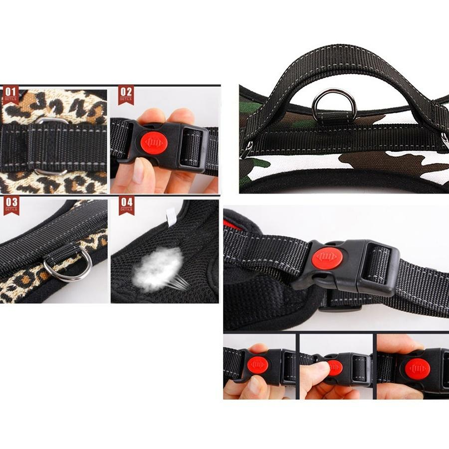 Leash Pet Dog Puppy Cat Soft Adjustable Harness Vest Chest Strap Braces Clothes | Edlpe