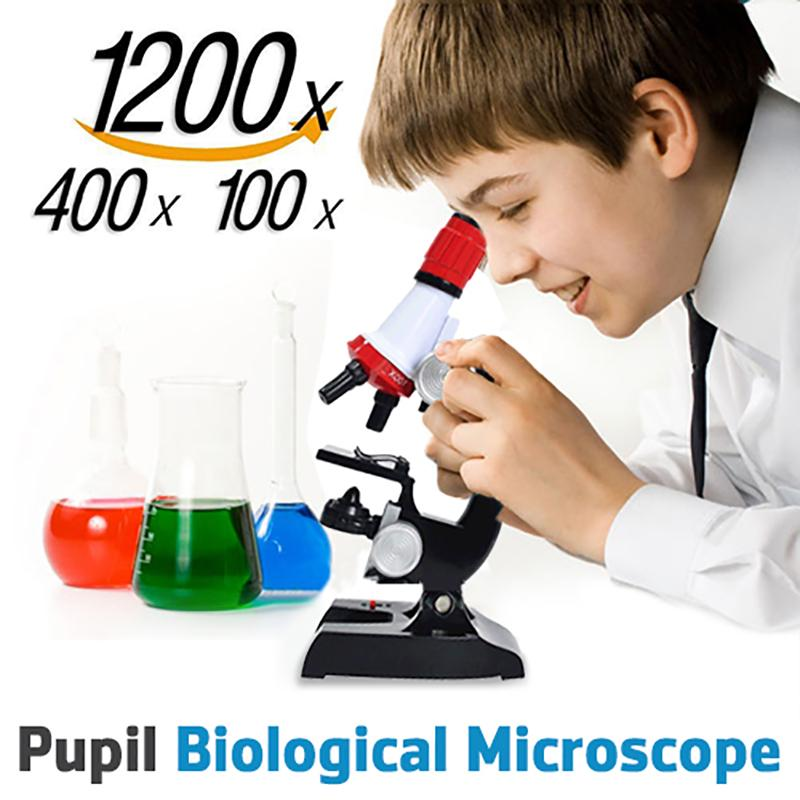 Pupil Science Microscope Educational Biological Toy School Kids Lab | Edlpe