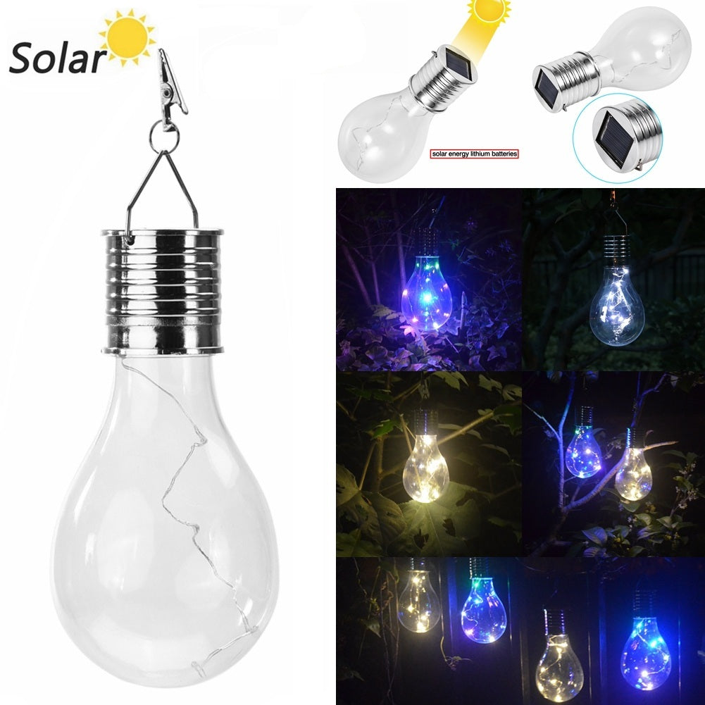 Outdoor Solar Waterproof Led Bulb Light Rotatable Nightlight | Edlpe