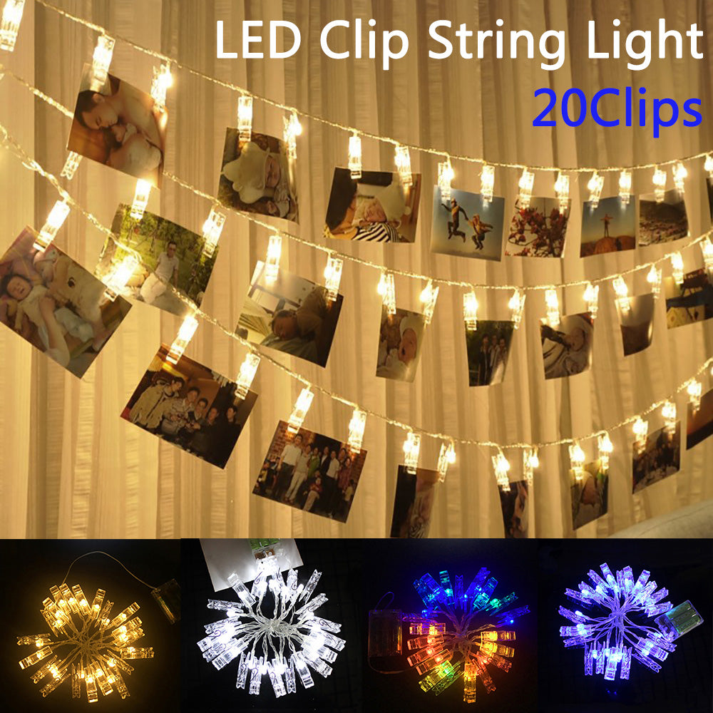 20 Led Home Decor Led String Lights Battery Usb Operated Party Wedding Birthday Christmas | Edlpe