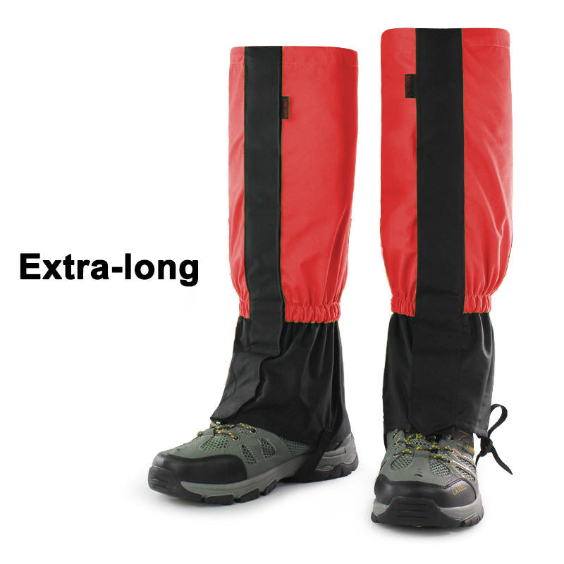 2Pcs Outdoor Waterproof Hiking Hunting Climbing Snow Leg Legging Cover Gaiters | Edlpe