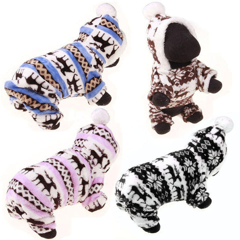 Dog Cat Coat Jacket Pet Winter Warm Clothes Party Dress Apparel Puppy Costume | Edlpe