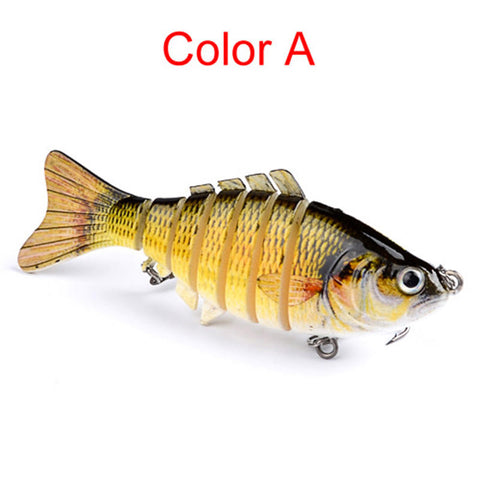 10Cm Multi Jointed Hard Fishing Tackle Lure Swim-Bait Hard Bait Crank-Bait Pike | Edlpe