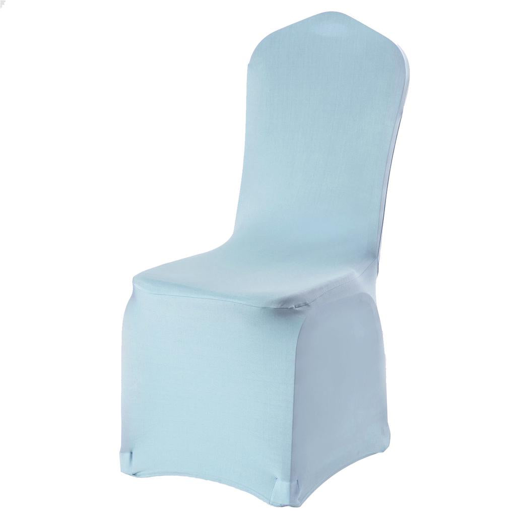 White Black Spandex Stretch Wedding Banquet Chair Cover Party Decor Dining Room Seat Cover 9 Colors | Edlpe
