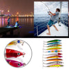 Image of Fishing Lures 9.5Cm/8.5G Plastic Hard Bass Baits Hooks Minnow Lures/10Pcs | Edlpe