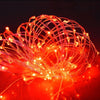 Image of 5M-20M 5V Usb Led Copper Wire String Lights Fairy Lights Xmas Garden Party Decor | Edlpe