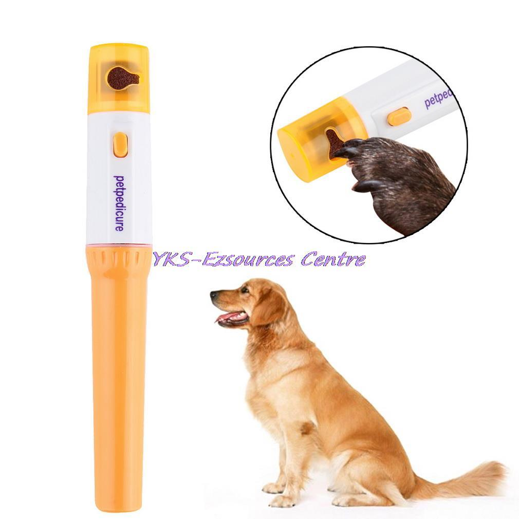Pet Dog Cat Nail Grooming Grinder Trimmer Clipper Electric Nail File Kit | Edlpe