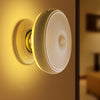 Image of Rechargeable 360 Degree Rotating Led Motion Sensor Night Light Bedroom Wall Lamp | Edlpe