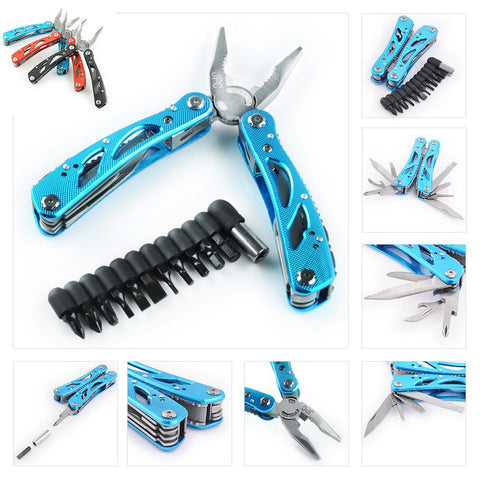 24 In 1 Multifunction Outdoor Survive Camping Multi Tool Kit Pocket Pliers Tools | Edlpe