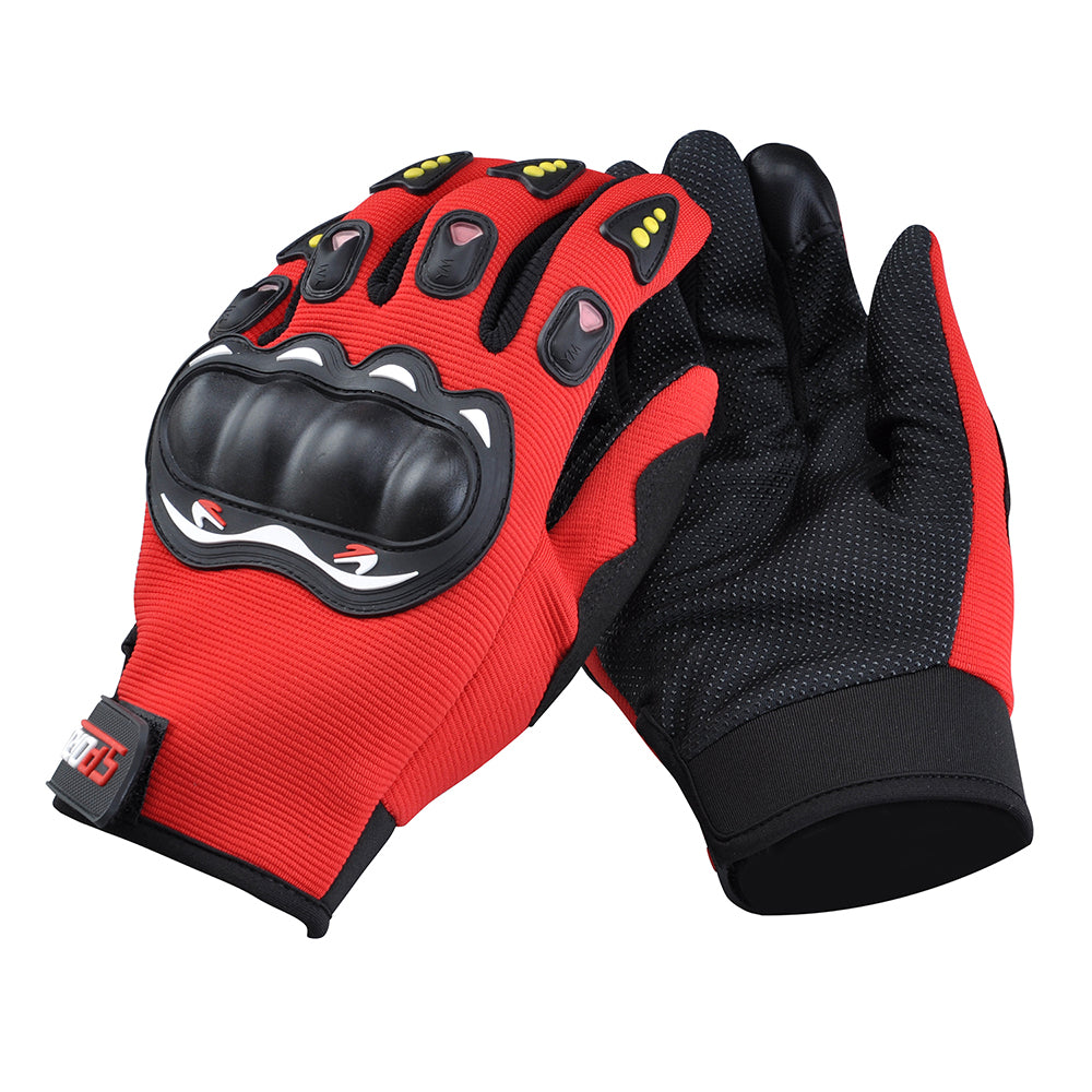 Men Cycling Motorcycle Gloves Hard Knuckle Full Finger Joint Health Tactical Gloves | Edlpe