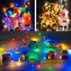 Image of Battery Power Led Battery Operated Copper Wire Mini Fairy String Light 1M Party Decor | Edlpe