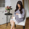 Image of Pregnant Women Lace Panelled Long Sleeve Dress Ladies Maternity Wrap Dresses | Edlpe