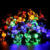 Image of 50Leds Flower Fairy Lights Outdoor Led Garland Party Wedding Christmas Decor | Edlpe