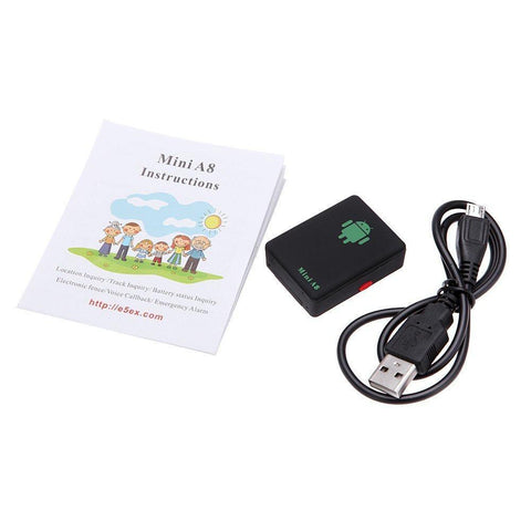 Gsm/gprs/gps Mini Tracker A8 Realtime Global Locator Tracking Device Sos Button | Edlpe