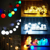 Image of Battery Usb Operated 20/50 Led Bulbs Festoon Globe String Light | Edlpe