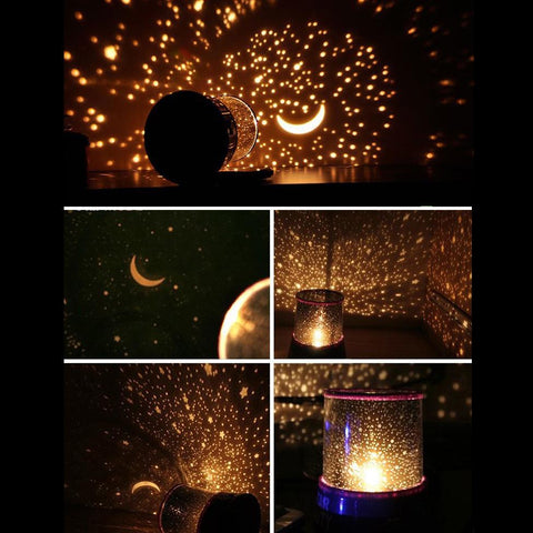 Led Star Master Multicolor Sky Starry Night Light Led Projector Light Lamp | Edlpe