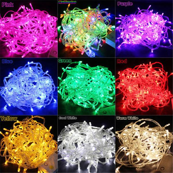 Original Multi-color 20m 200 Leds Globe String Light Ball Fairy Light For Party Christmas Wedding New Year Indoor Outdoor Decoration Bracing Up The Whole System And Strengthening It Lights & Lighting