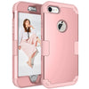 Image of Hybrid Heavy Duty Shockproof Rubber Hard Case Cover For Iphone X 8 7 Plus | Edlpe