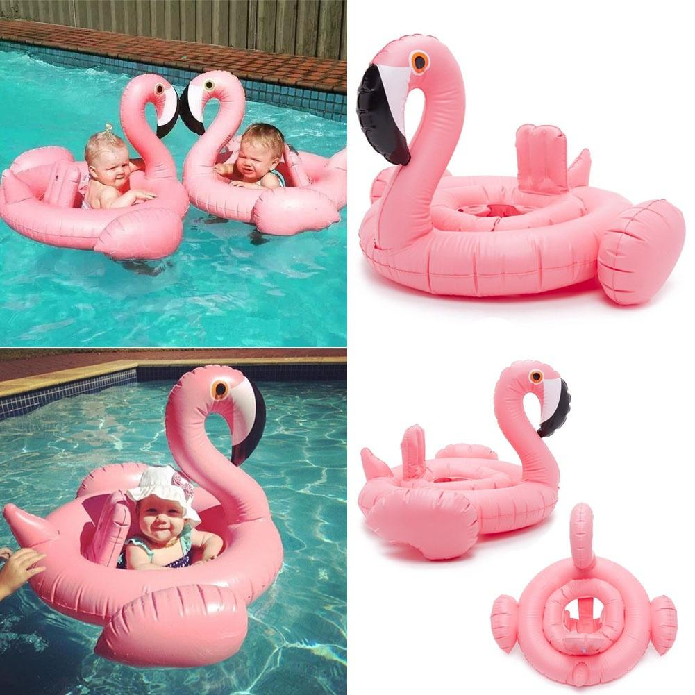 Inflatable Giant Flamingo Beach Pool Float Swim Ring Raft Swimming Water Fun Kid | Edlpe