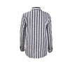 Image of Womens Long Striped Tops Ladies Summer Loose Long Sleeve Casual Linen T Shirt Blouse | Edlpe