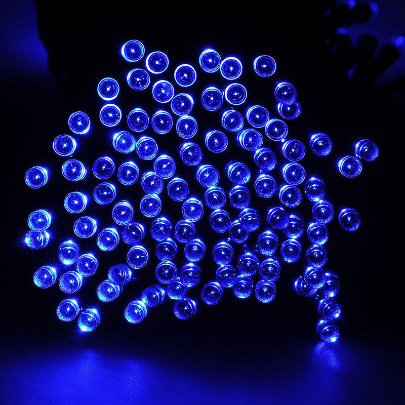 60-200Led Solar Power Led String Fairy Light Wedding Party Colorfuls Home Decor | Edlpe