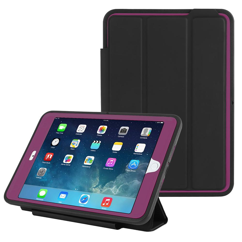Ipad Case For Ipad Mini 123 Heavy Duty Shockproof Stand Smart Cover Protective Case | Edlpe