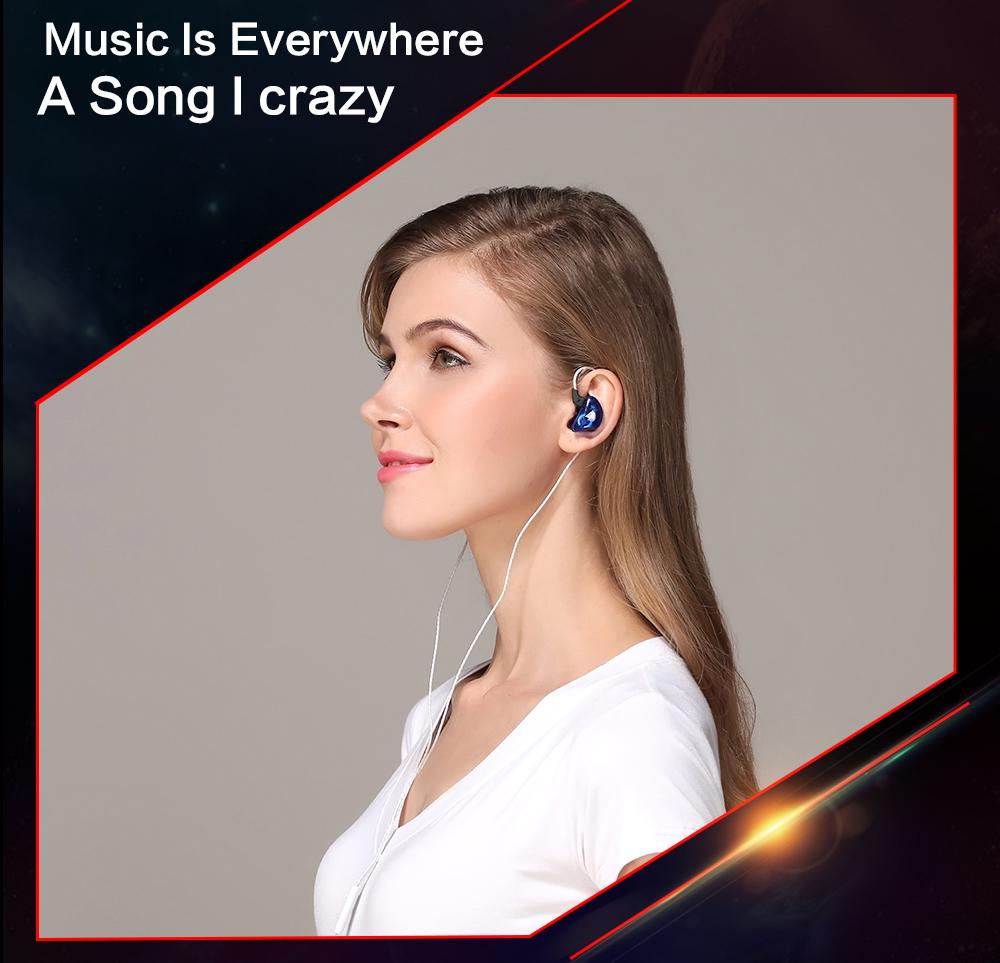 Headphone Headset Earbuds Bass Wire Control Dynamic Driver Moving Coil Microphone Earphone | Edlpe