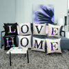Image of 26 Letters Led Bright Throw Pillows Case Sofa Car Waist Cushion Cover Room Decor | Edlpe