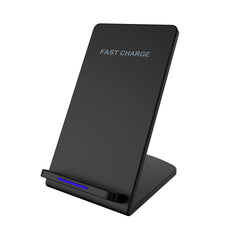 Upgraded QI Pad Stand Fast Wireless Chargers For iPhone Android