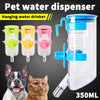 Image of 2X 350Ml Automatic Pet Dog Cat Water Feeder Bottle Dispenser Hanging Bowl Feeder | Edlpe