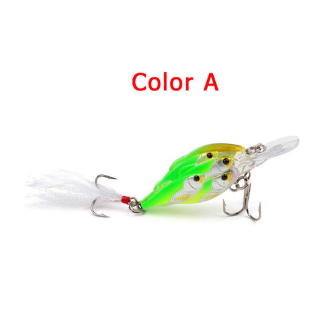 Bass Fishing Lures Popper Frog Hard Lure With Hooks Bass Baits Crankbaits Tackle | Edlpe