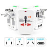 Image of Usb International Travel Plug Us Eu Universal Power Adapter Travel Converter | Edlpe