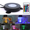 Image of Led Aquarium Light Fish Tank Lamp Bubble Air Stone Underwater Color Changing Led Remote Control | Edlpe