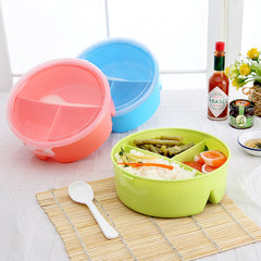 Meal Healthy Plastic Microwave Spoon Food Container Home School Bento Box Owl Lunch
