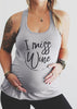 Image of Maternity Letters Painted U-Neck Vest Top | Edlpe