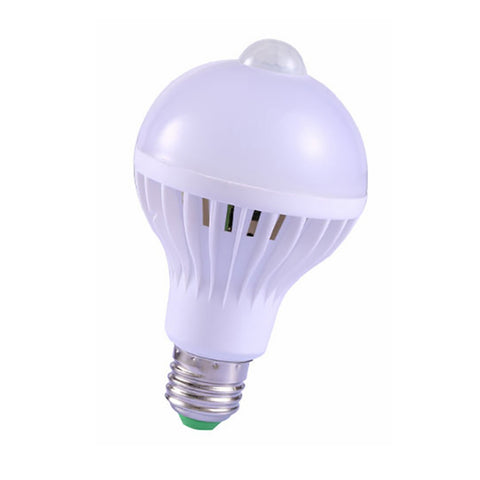 E27 Led Human Body Induction Smart Bulb Pir Motion Sensor Lamp For Hallway Stairs Closet Bedroom | Edlpe