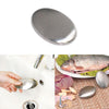 Image of Oval Shape Stainless Steel Soap Deodorize Smell From Hands Retail Magic Eliminating Odor Kitchen Bar | Edlpe