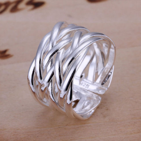 Fashion Korean Adjustable Ring Braided Twisted Rope Thumb Finger Ring Belt | Edlpe
