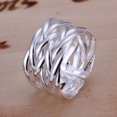 Fashion Korean Adjustable Ring Braided Twisted Rope Thumb Finger Ring Belt