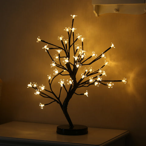 48 Led Cherry Blossom Tree Light For Home Party Wedding Decoration | Edlpe