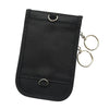 Image of Black Pouch Unisex Signal Blocker Keyless Entry Fob Guard Faraday Bag Car Key Holder | Edlpe