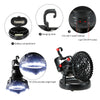 Image of Camping Fan Light Led Camping Hanging Tent Lantern Hiking Fishing Light Lamp | Edlpe