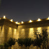 Image of 3 Led Solar Fence Light Garden Outdoor Gutter Light | Edlpe