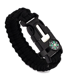 Mens Fashion Survival Bracelets Emergency Rope Outdoor Camping Sports Tool