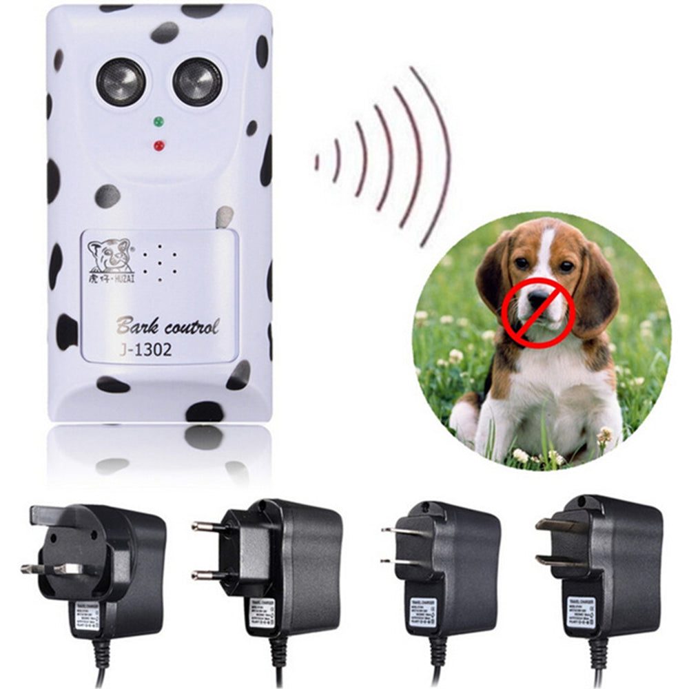 Ultrasonic Stop Barking Dog Electric Shock Training Collar Anti Bark Stopper | Edlpe