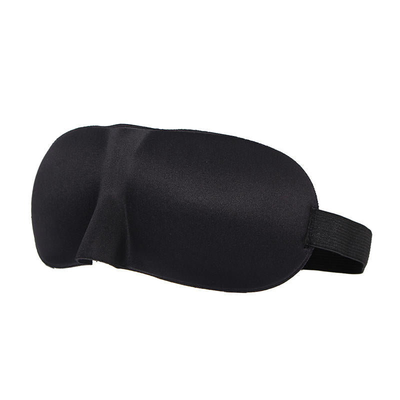 Soft Padded Blindfold 3D Eye Mask Aid Shade Sponge Cover Travel Sleeping Rest | Edlpe