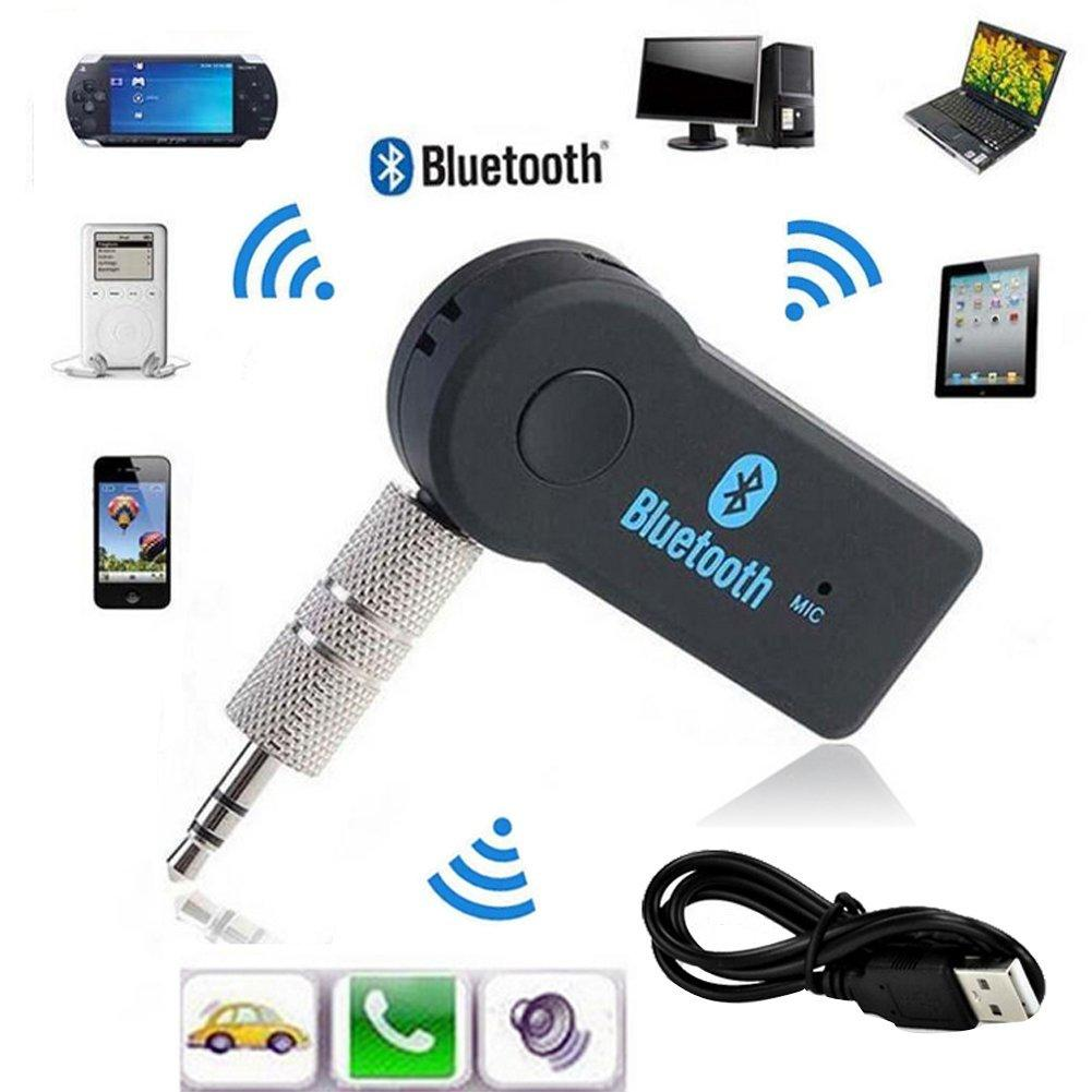 3.5Mm Car Bluetooth Adapter Auto Aux Streaming A2Dp Kit For Speaker Headphone | Edlpe