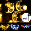 Image of 3.5M Moon Shape Led Fairy Lights Indoor/outdoor String Lighting Xmas Christmas | Edlpe
