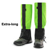 Image of 2Pcs Outdoor Waterproof Hiking Hunting Climbing Snow Leg Legging Cover Gaiters | Edlpe